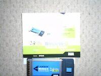 LINKSYS WIRELESS-G 2.4 GHz NOTEBOOK ADAPTOR
