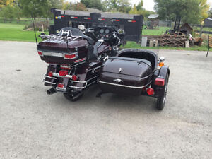 2005 Ultra Classic with side car. May trade