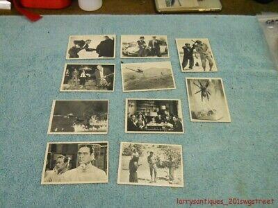 1965~VINTAGE~ 10 JAMES BOND 007 TRADING CARDS (NR)