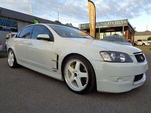 2008 Holden Special Vehicles Senator E Series MY08 Upgrade Signature White 6 Speed Pooraka Salisbury Area Preview