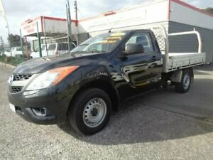 2013 Mazda BT-50 MY13 XT (4x2) 6 Speed Manual Cab Chassis Sandgate Newcastle Area Preview