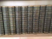 22 volume The Works of William Makepeace Thackeray