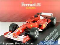 FERRARI F399 CAR MODEL 1:43 SIZE IXO ATLAS FORMULA ONE EDDIE IRVINE 7174024 T3