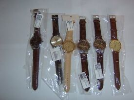 SELECTION OF MENS WATCHS 6