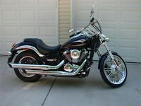 2007 KAWASAKI VULCAN 900 Custom 24,702 KM FALL SALE $4,900
