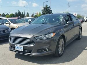 2016 Ford Fusion SE, Sunroof, NAV, Leather
