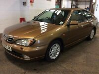 NISSAN PRIMERA SE+ AUTOMATIC AUTO EXCELLENT DRIVE LONG MOT CHEAP CAR CLEAN NOT ALMERA MICRA CIVIC