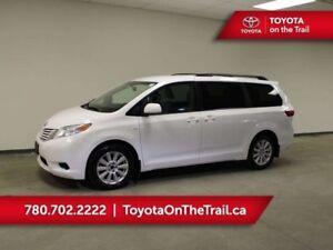 2017 Toyota Sienna LE AWD; 7 PASSENGER, HEATED SEATS POWER SLIDI