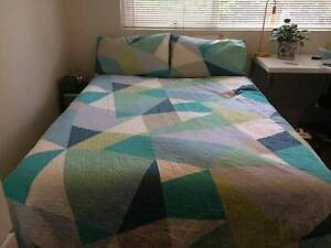 Double ensemble bed (mattress and base) Summer Hill Ashfield Area Preview