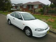 1998 Mitsubishi Lancer CE GLi White 4 Speed Automatic Coupe Granville Parramatta Area Preview
