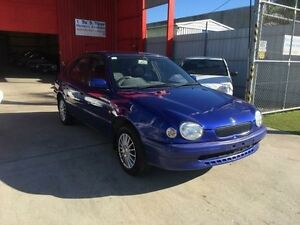 1999 Toyota Corolla AE112R Conquest Blue 4 Speed Automatic Liftback Clontarf Redcliffe Area Preview