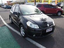 2007 Suzuki SX4 GYB Z Series Black 5 Speed Manual Hatchback Westcourt Cairns City Preview