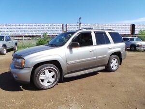 2002 Chevrolet TRAIL BLAZER 4WD TRAILBLAZER For Sale Edmonton