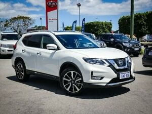 2018 Nissan X-Trail T32 Series II TL X-tronic 4WD White 7 Speed Constant Variable Wagon Morley Bayswater Area Preview