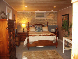 AUGUST 1ST AVAILABLE. COZY, CLEAN, CABIN LIKE RENOVATED ROOM