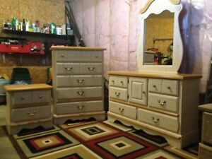 Girls Used 9pc Bedroom Set - Kathy Ireland Home Collection