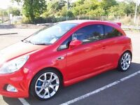 VAUXHALL CORSA VXR (57) 2007 1.6 TURBO.LOW MILES.UNMOLESTED.FULL SERVICE HISTORY.1 YEARS MOT. SWAP ?