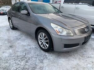 2007 INFINITI G35 Sedan Luxury Luxury-AWD X Luxury-AWD