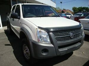 2007 Holden Rodeo White Dual Cab Eight Mile Plains Brisbane South West Preview