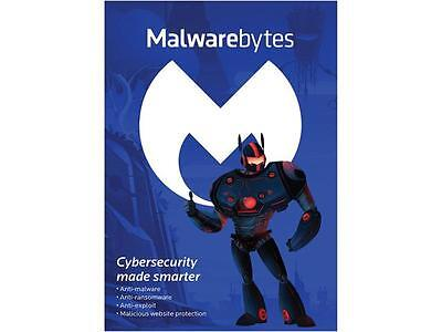 Malwarebytes Anti Malware 3 0   3 Pcs   1 Year  Key Card