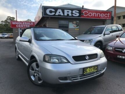 2005 Holden Astra TS Convertible Silver 4 Speed Automatic Convertible