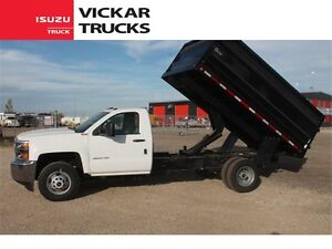 SILVERADO 3500HD 4x4 WITH A 12 FOOT DUMP BOX