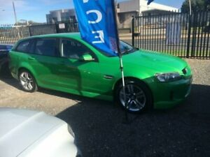 2008 Holden Commodore VE MY08 SV6 Green 5 SP AUTOMATIC Wagon Elizabeth West Playford Area Preview