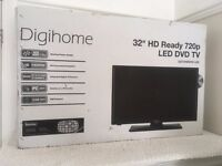 32 inch LED TV with DVD & Freeview