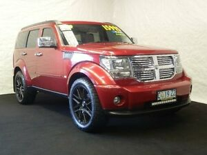 2009 Dodge Nitro KA SX-R Inferno Red 4 Speed Automatic Wagon Derwent Park Glenorchy Area Preview
