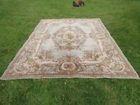 vintage aubusson style country house rug carpet room size