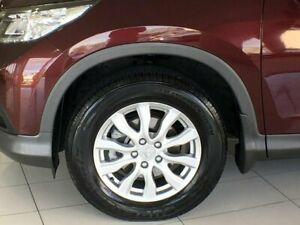 2013 Honda CR-V RM VTi Red 6 Speed Manual Wagon Ashmore Gold Coast City Preview