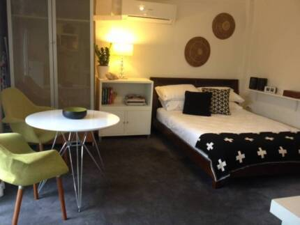 GARDEN  STUDIO APARTMENT AVAILABLE TO RENT Tempe Marrickville Area Preview