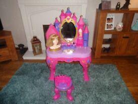 Disney Sleeping Beauty Talking Styling Vanity Table & Stool