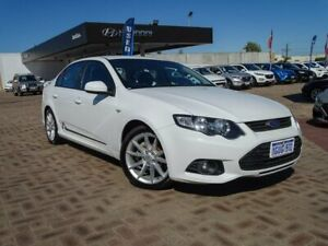 2013 Ford Falcon FG MkII XR6 White 6 Speed Sports Automatic Sedan Morley Bayswater Area Preview
