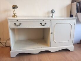 Shabby chic sideboard (solid wood)