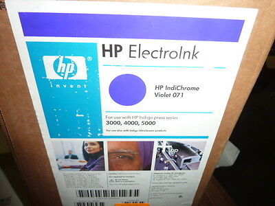 Hp Indigo Electroink For 3000 4000 5000 Presses 2 Q4003a And 2 Q4004a Violet