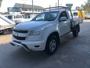 2015 Holden Colorado RG MY15 LS (4x2) White 6 Speed Automatic Cab Chassis Bankstown Bankstown Area Preview