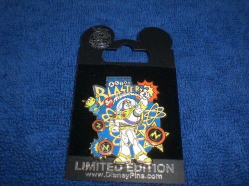 Disney 2010 DLR  BUZZ LIGHTYEAR ASTRO BLASTERS  5th Anniversary  LE Pin