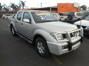 2007 Nissan Navara D40 ST-X (4x4) Silver 6 Speed Manual Dual Cab Pick-up Plympton Park Marion Area Preview