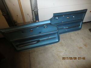 1967 Corvette Convertible Door Panels