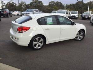 2014 Holden Cruze White Sports Automatic Hatchback