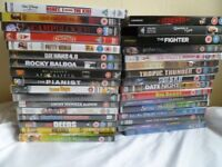 33 brand new sealed DVD, 1.50 pounds each or 40.00 pounds for the lot