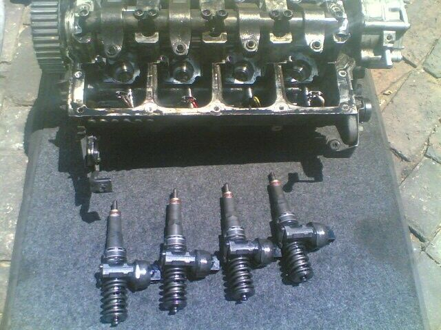 jetta 5 1.9tdi engine cylinder head ''bxe''
