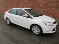 2012 Ford Focus SE FLEX FUEL 44$/SEM. TOUT INCLU $0 COMPTANT