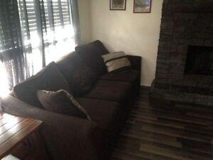 2 allen sofas in good condition