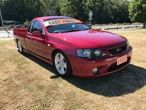 2006 Ford Falcon BF MkII XR6T Maroon 6 Speed Auto Seq Sportshift Utility Clontarf Redcliffe Area Preview