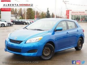 2009 Toyota Matrix ABS Low Kms One Owner Winter Tires
