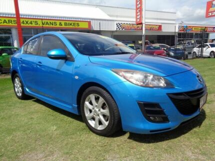 2010 Mazda 3 BL10F1 MY10 Maxx Activematic Blue 5 Speed Sports Automatic Sedan Clontarf Redcliffe Area Preview