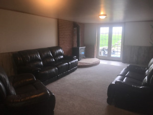 Huge 2 bedroom basement apt in Little Britain on Farm
