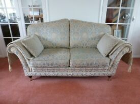 Steed Upholstery Three Piece Suite - Two Seater Sofa and Two Armchairs
